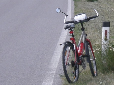 Zrcadlo na kole