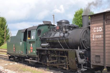 Parní lokomotiva úzkokolejky