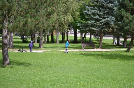 Park v Nové Bystřici