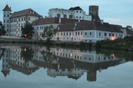 Jindřichohradecký zámek večer